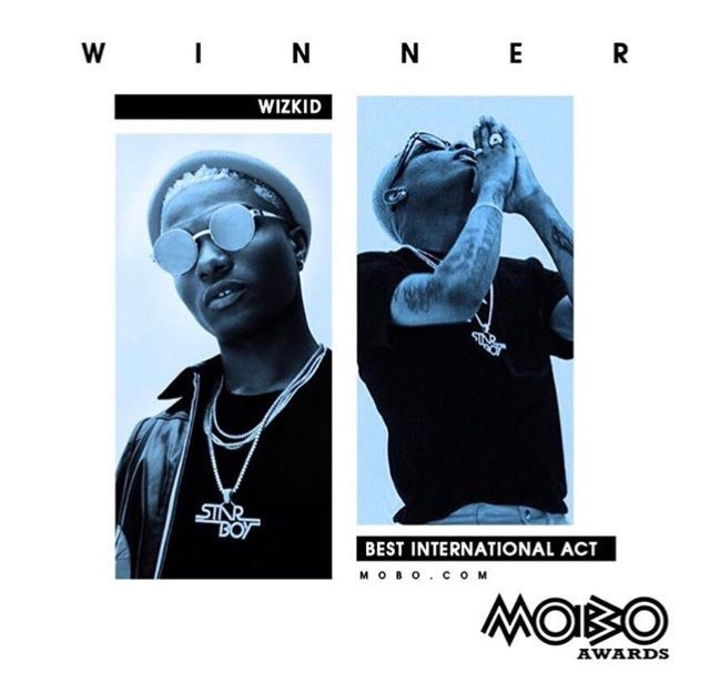 MOBO Awards 2017: Goodluck Jonathan, Ben Bruce hail Wizkid