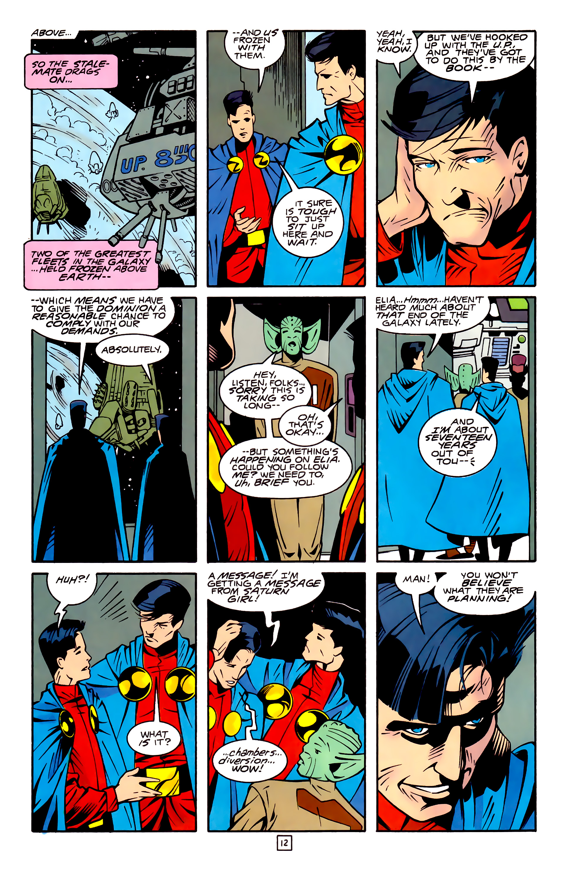 Legion of Super-Heroes (1989) 32 Page 12