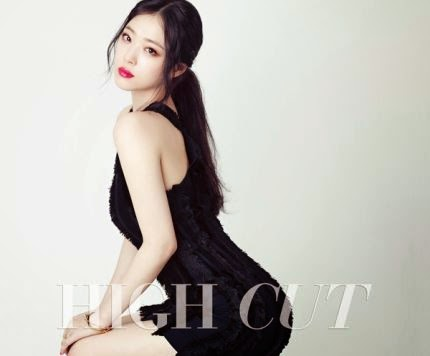 f(x) Sulli HIGH CUT Pictorial K-pop enjoy korea hui