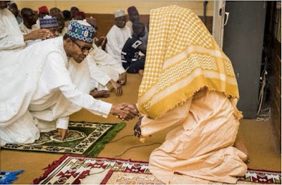 President Muhammadu Buhari Eid prayers to celebrate Eid-El-
