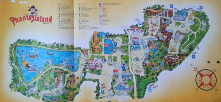 Phantasialand Park Karte.Phantasialand Mal Historisch Alte Plane Https Www