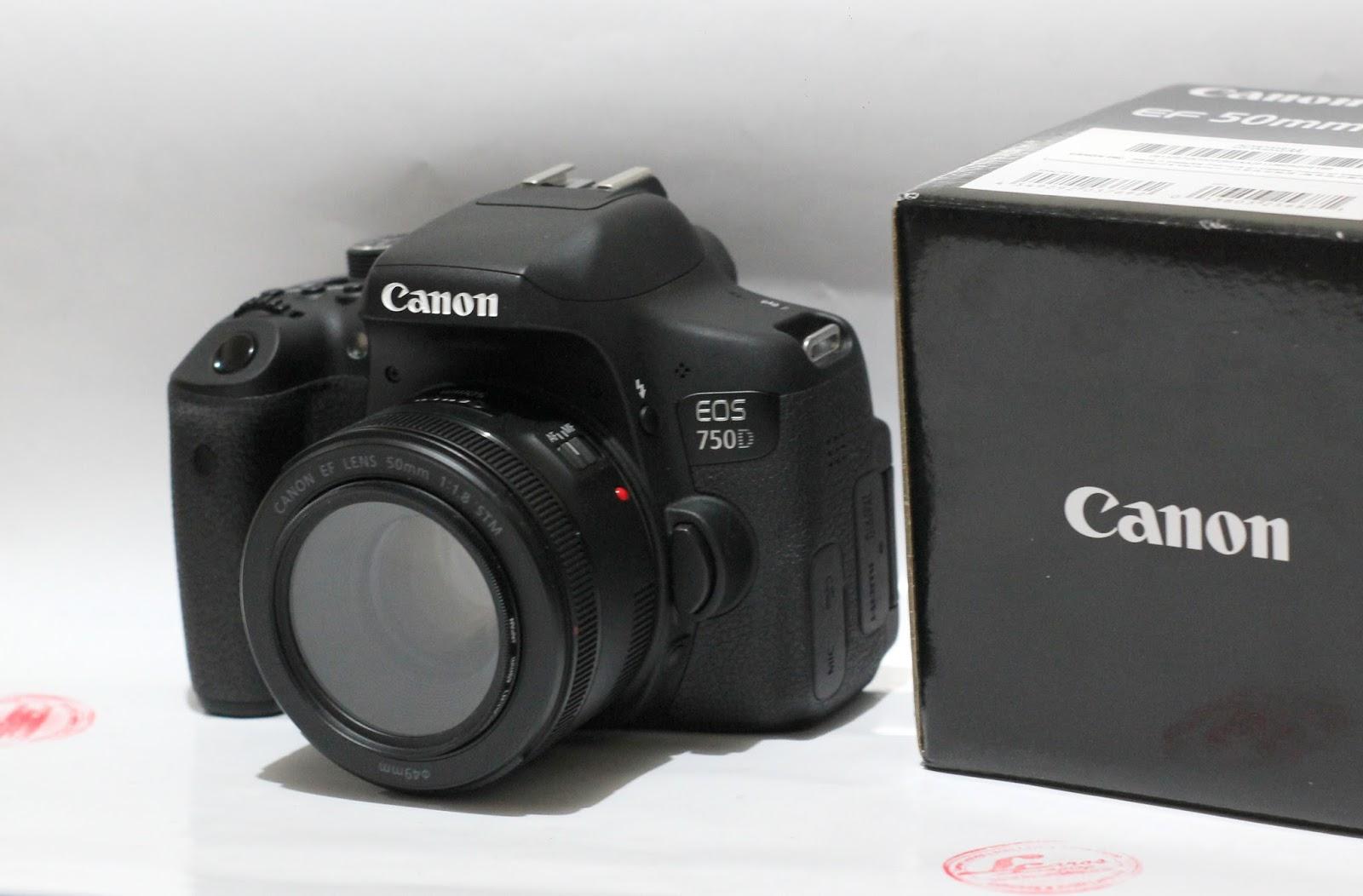 Jual Kamera Canon Eos 750D WiFi
