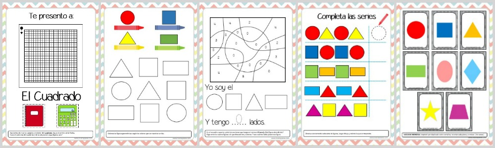 Kit De Actividades Figuras Geometricas
