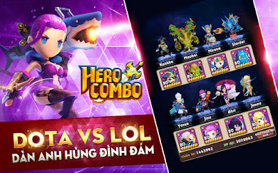 Hero Combo: Dota Vs LOL v1.0.6 Mod Apk