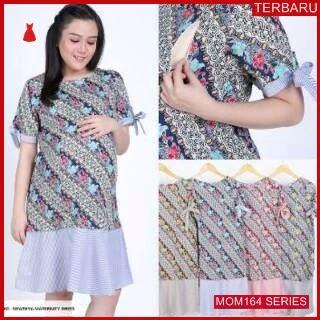 MOM164D23 Dress Hamil Menyusui Solo Batik Dresshamil Ibu Hamil