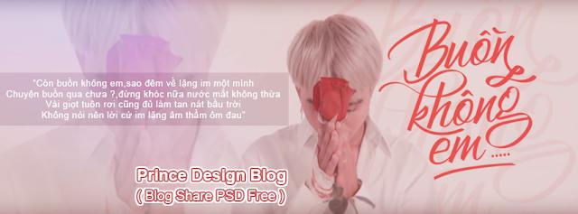 [PSD Ảnh Bìa] Buồn Không Em - Đạt G