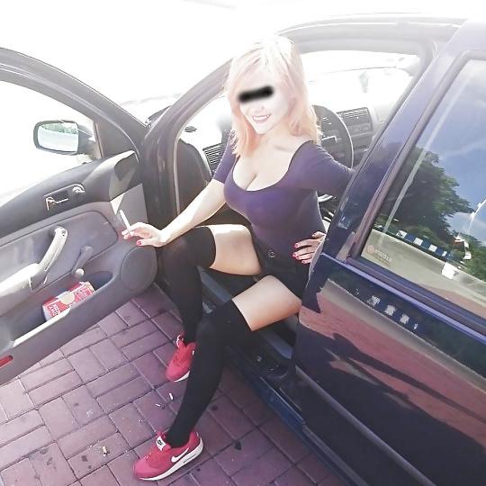 Blondine sucht Parkplatzsex auf der A4 und A7 beim Kirchheimer Dreieck