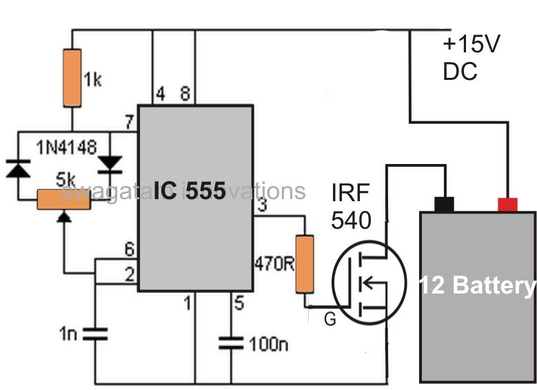 battery desulfator circuit explained diagram circuit