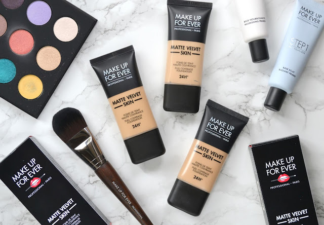 MAKE UP FOR EVER Matte Velvet Skin Foundation Review