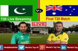 Australia vs Pakistan, Final, T20 tri-series, Live Cricket Score