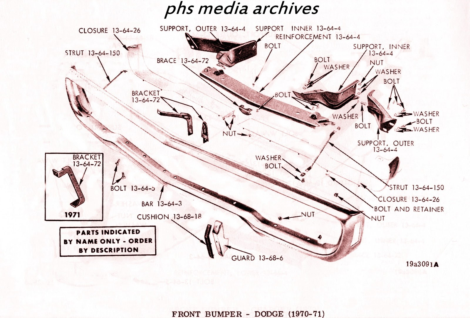Restoration Files: 1970 Dodge Polara & Monaco Front and Rear Ends