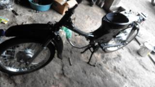 Gambar rangka motor dan roda