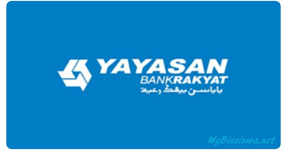 Biasiswa Yayasan Bank Rakyat 2020 Biasiswa 2020 2021