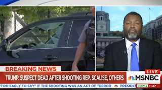 MSNBC Analyst Malcolm Nance Who Called for Terrorist Attack Against A Trump Building Now Bashing Guns for Today's Shooting