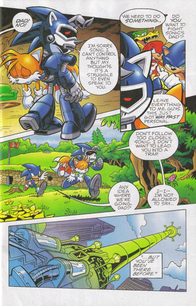 Read online Sonic The Hedgehog comic -  Issue #168 - 14