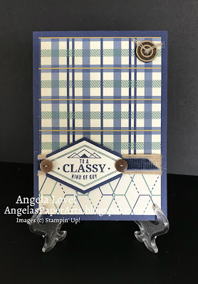 SU True Gentleman card by Angela Lovel, AngelasPaperarts.blogspot.com.au
