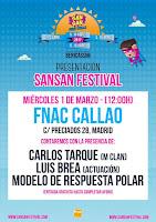 Presentación Fnac Callao, Sansan Festival 2017