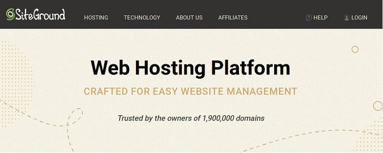 siteground評價  適合用於WordPress的虛擬主機
