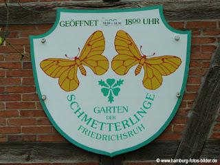 Schmetterlingspark, Garten der Schmetterlinge, Hamburg