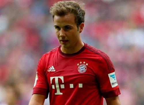 Vị trí nào cho Gotze ở Bayern?