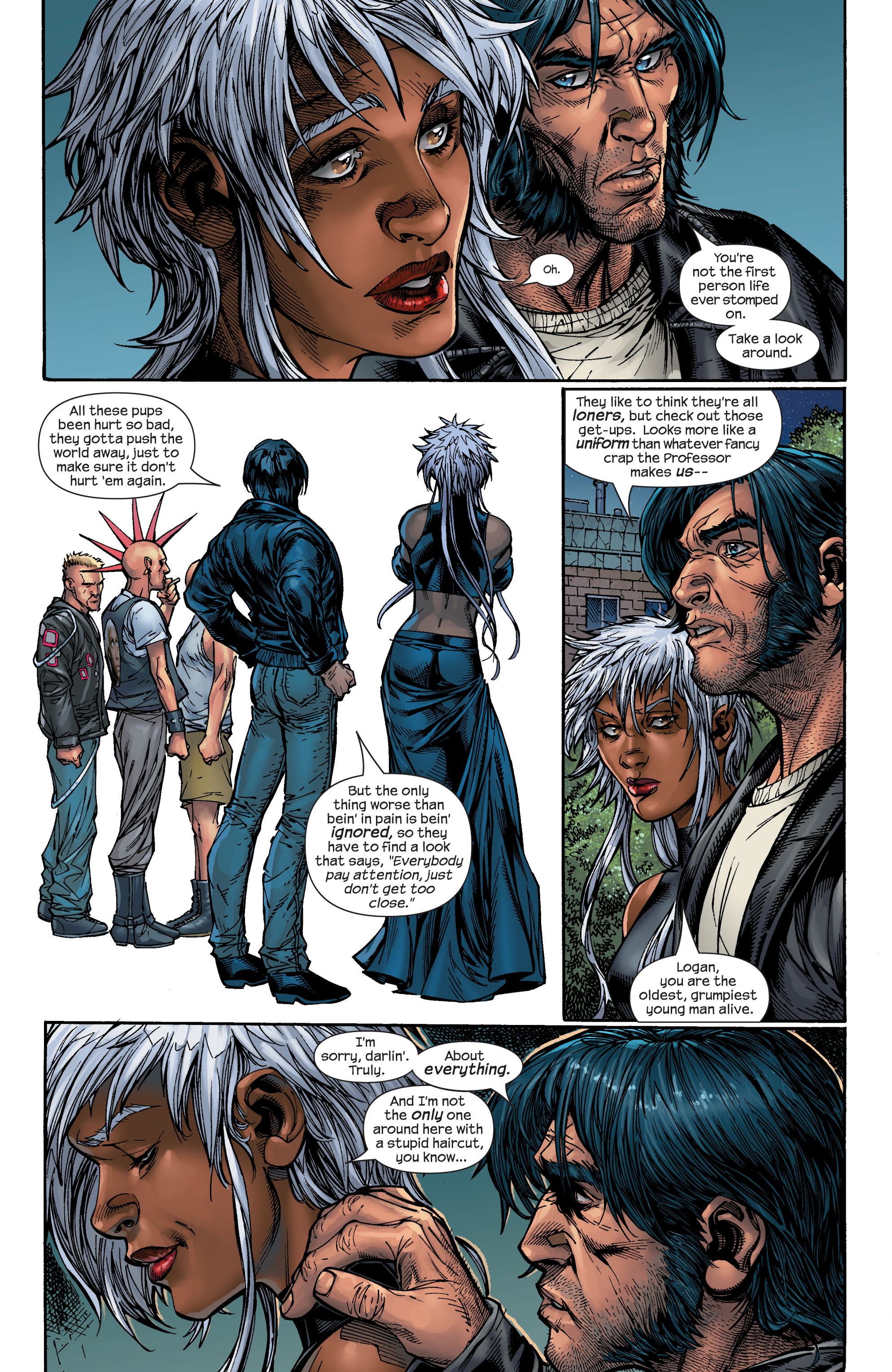 Read online Ultimate X-Men comic -  Issue #48 - 17