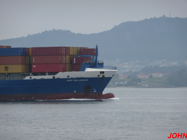 WEC VELAZQUEZ, container ship