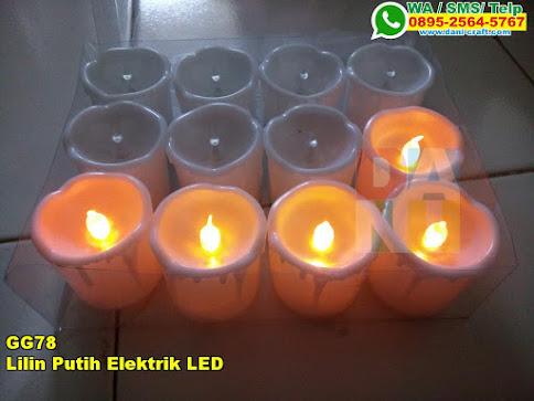 Toko Lilin Putih Elektrik LED