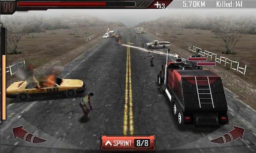 تحميل لعبة الزومبي وطريق الموت Zombie Roadkill للاندرويد