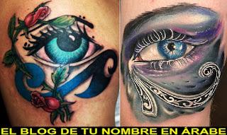 Tatuajes de simbolos del ojo de horus