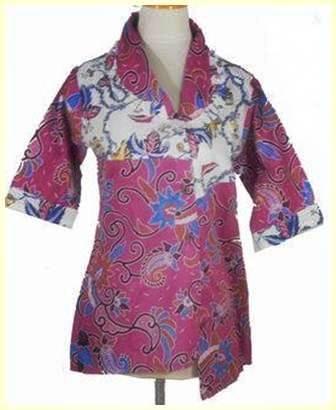Update Lima Contoh Model Baju Batik Terbaru