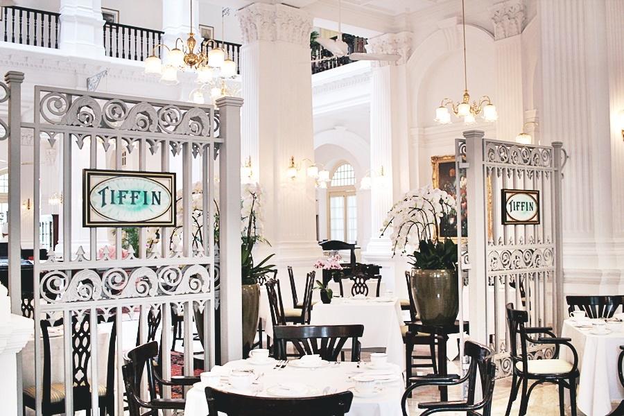 tiffin room raffles hotel