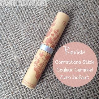Review Correttore Couleur Caramel Stick Zero Default  verdebio