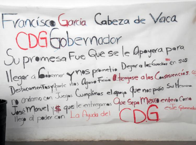 """NARCOMANTA :CABEZA de VACA """"PROMETIO SACAR a GUACHOS de las CALLES"""",CARTEL del GOLFO le DIO APOYO$ y RECLAMAN"""