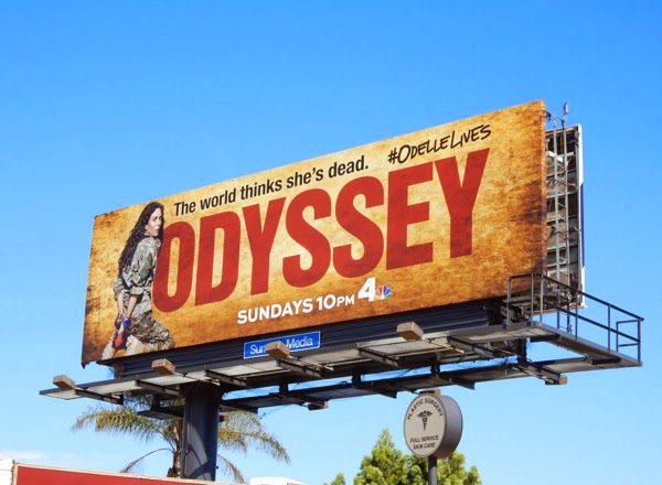 Anna Friel Odyssey series premiere billboard