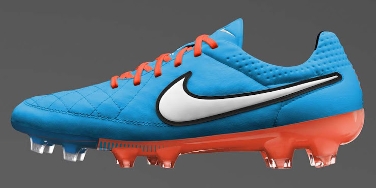 new product 40419 fda14 Blue / Orange Nike Tiempo Legend V 14-15 Boot Colorway Released - Footy  Headlines