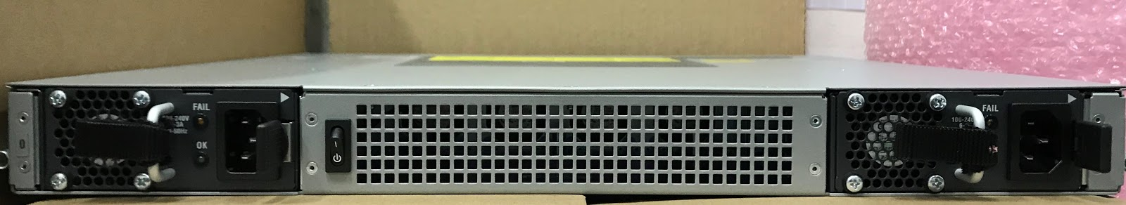 My Network Lab: Upgrading a Cisco ASR 1001-X Router and show hw
