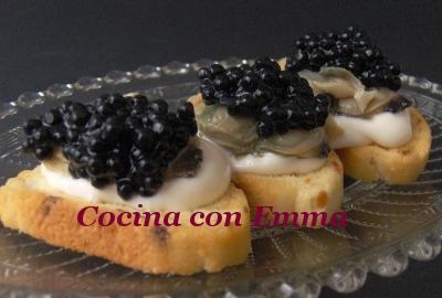 Pincho de almeja chilena