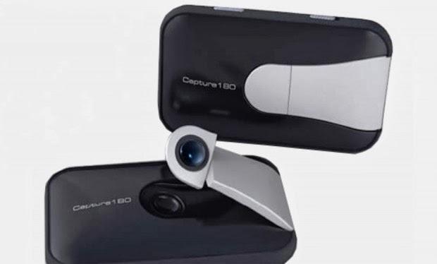 كاميرا Capture180 تتيح للمستخدمين إمكانية التصوير بعدسة متحركة
