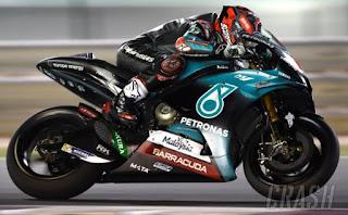 Hasil FP1 MotoGP Prancis: Quartararo Tercepat, Rossi Posisi 10