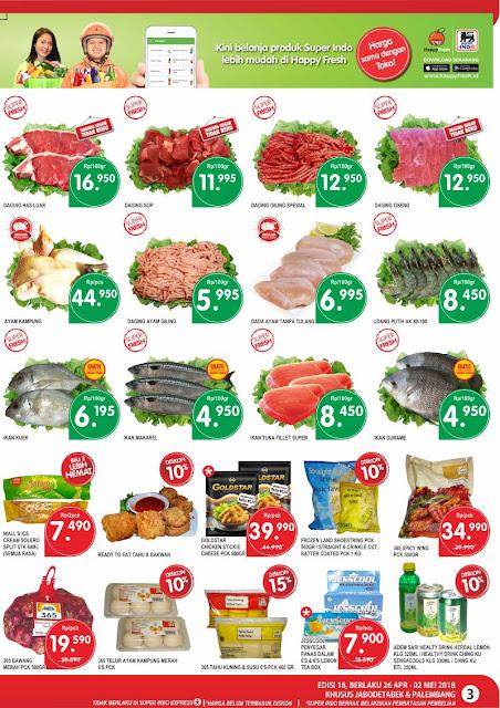 Katalog harga Promosi JSM SuperIndo Edisi 26 April sampai dengan 02 Mei 2018