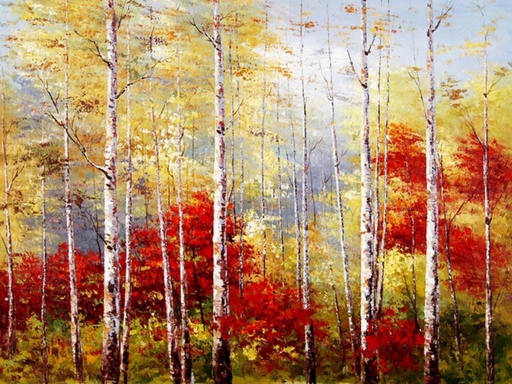 Cuadros modernos pinturas y dibujos pinturas de paisajes - Oleos decorativos ...