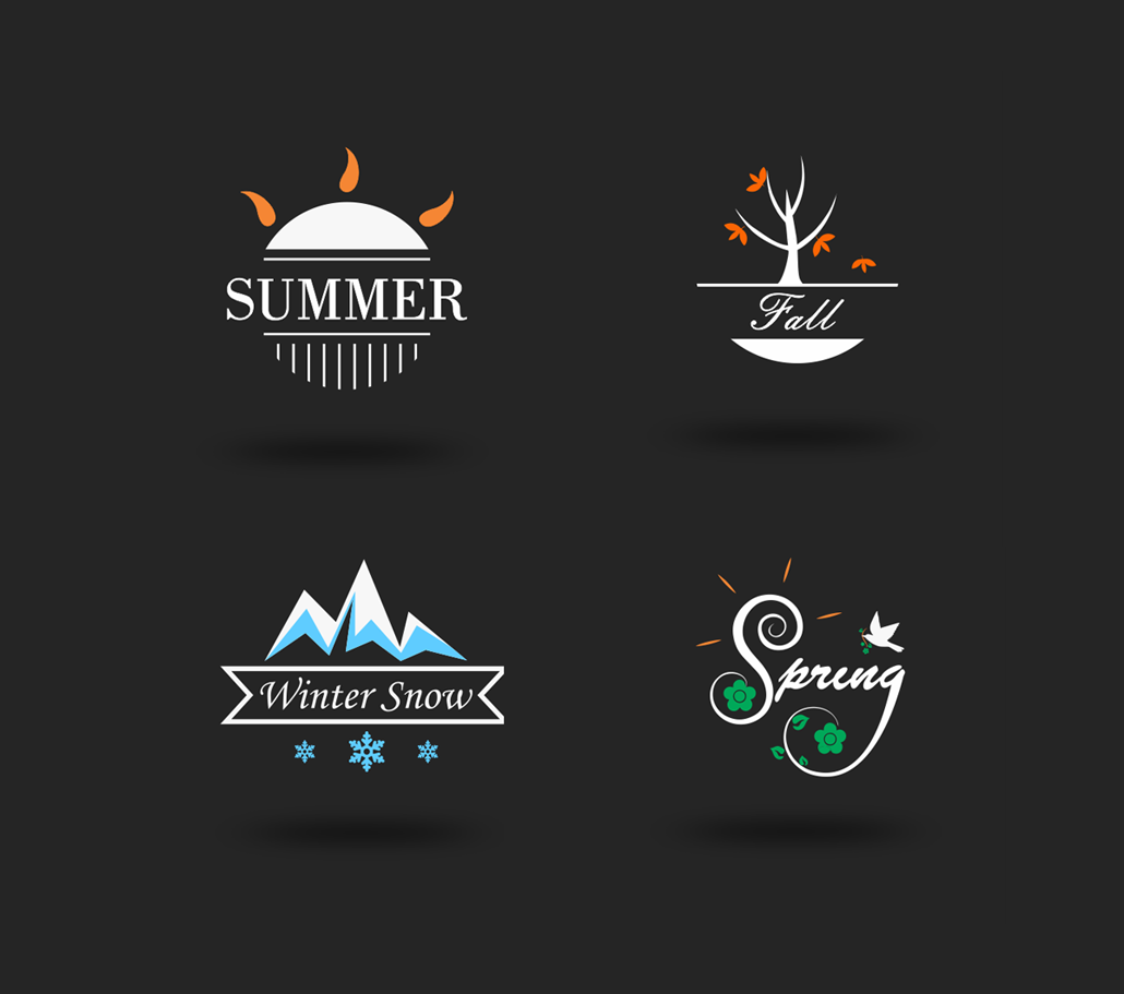 Season Logo Ideas And Inspiration For Logo Designers