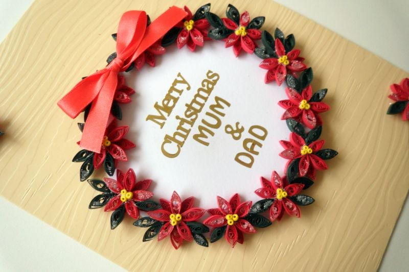Christmas Special Greeting Card Creative Art Craft Work