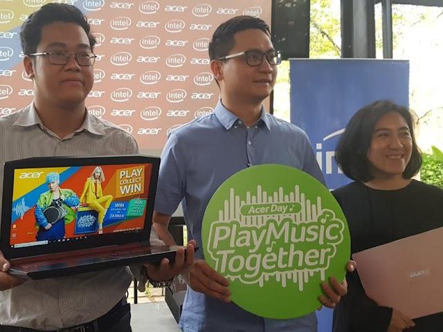 Acer Day 2018 Gebrak Pasar Bandung Hadirkan Swift 3 Acer Day Edition