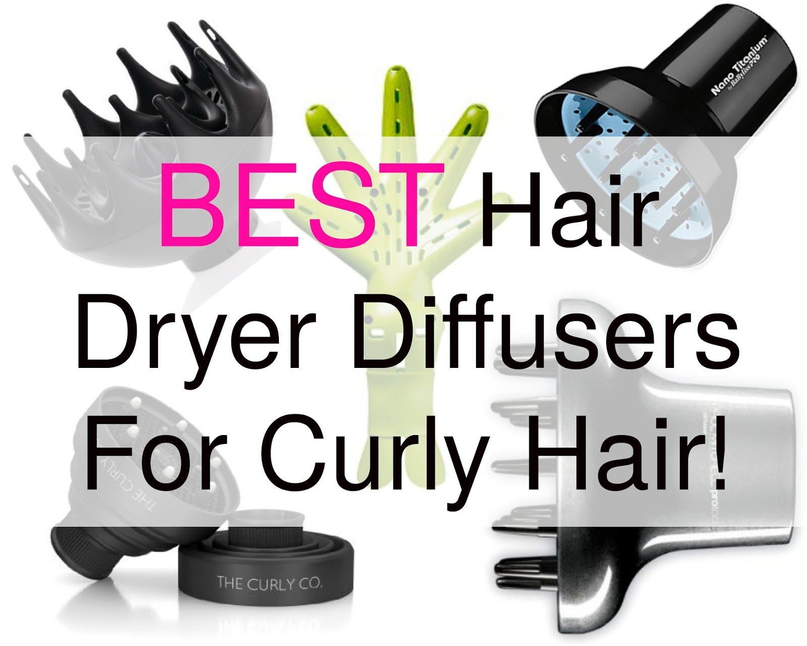 Hair Diffuser for curly, coily and kinky hair is important. Your hair dryer needs the right diffuser to keep hair frizz free, healthy and gorgeous!