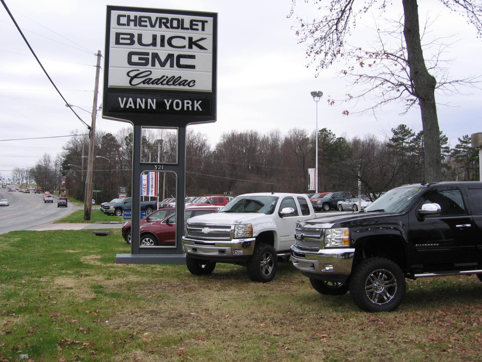 Vann York Gmc >> Vann York Chevrolet Buick GMC Cadillac: Rocky Ridge Edition Chevrolet Silverados! Vann York ...