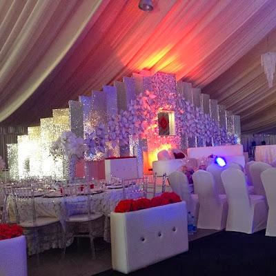 %name Photos from Peter Okoye and Lola Omotayos traditional wedding