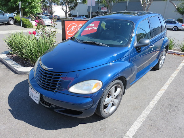 Chrysler PT Cruiser with Single Stage Enamel Paint from Almost Everything Auto Body