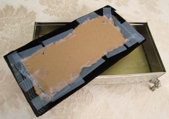 repurposed tissue box