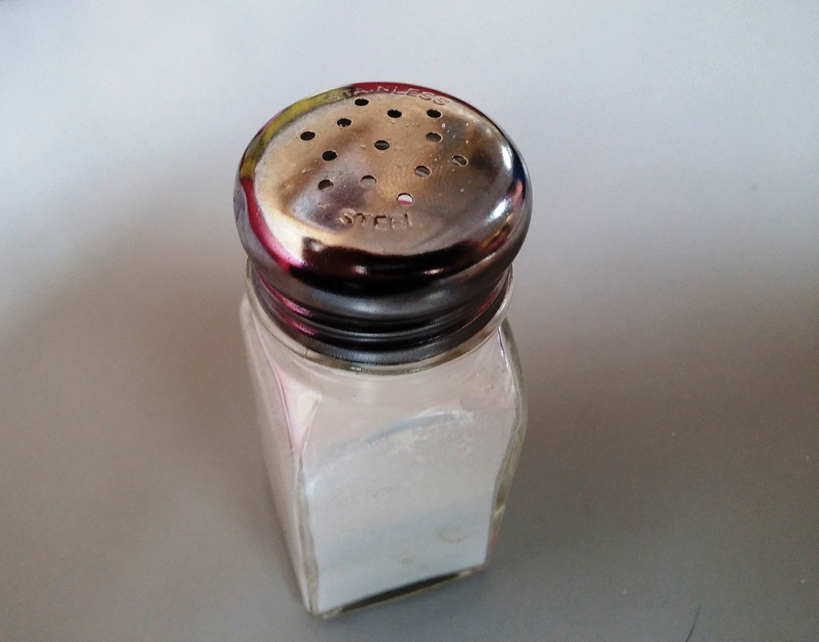 Salt Shaker For DIY Eye Puffiness Fix Pixibay Image